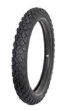 Motorcycle tyre. On white background Stock Photography