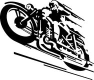 Motorcycle vector Royalty Free Stock Photos