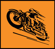 Motorcycle vector background Stock Image