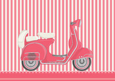 Motorcycle vector illustration. EPS 8 Royalty Free Stock Photography