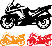 Motorcycle vector Royalty Free Stock Photo