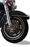 Motorcycle Wheel Royalty Free Stock Photography