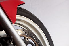Motorcycle wheel brake Royalty Free Stock Images