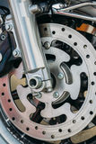 Motorcycle wheel Royalty Free Stock Photos