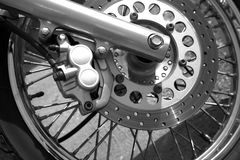 Motorcycle Wheel Details Stock Photos
