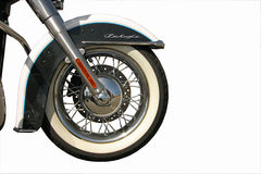 Motorcycle wheel Stock Photography