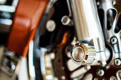 Motorcycle wheel hub Royalty Free Stock Images