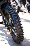 Motorcycle wheel tire Royalty Free Stock Photos