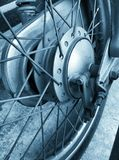 Motorcycle wheels Royalty Free Stock Images
