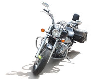 Motorcycle on white background Royalty Free Stock Photos