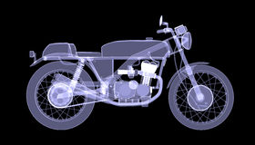 Motorcycle. X-Ray Stock Photography