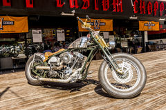 Motorcycles bike club in Istanbul. Turkey royalty free stock images