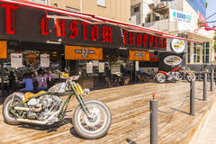 Motorcycles bike club in Istanbul. Turkey royalty free stock photography