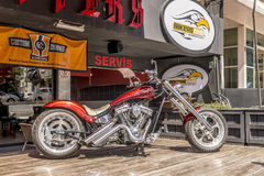 Motorcycles bike club in Istanbul. Turkey stock image