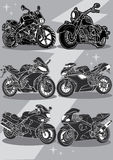 Motorcycles Stock Photography