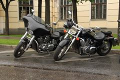Motorcycles Royalty Free Stock Images