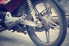 Motorcycles wheels Stock Photos