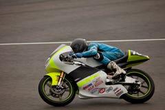 motorcycling πειραματικό β 125cc davies Matthew Στοκ φωτογραφίες με δικαίωμα ελεύθερης χρήσης