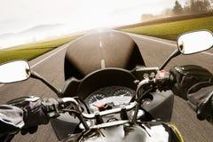 motorcycling Arkivbilder