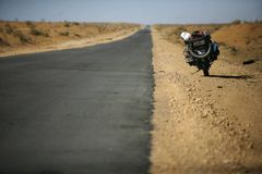 motorcycling adenture Стоковая Фотография RF