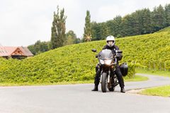 Motorcycling Royalty Free Stock Photos