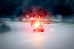 Motorcycling Royalty Free Stock Photography