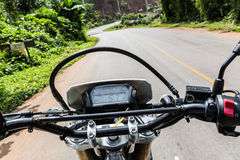 Motorcycling in North Thailand Royalty Free Stock Photos