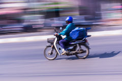 Motorcycling Panning In Thailand Royalty Free Stock Photography