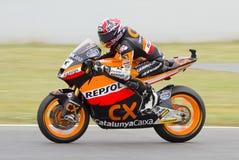 Motorcycling race Stock Image