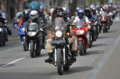 Motorcycling season opening Royalty Free Stock Photography