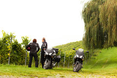 Motorcycling Royalty Free Stock Images