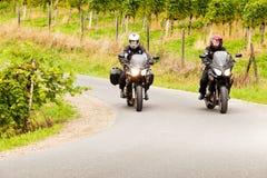 Motorcycling Royalty Free Stock Photo