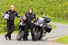 Motorcycling Royalty Free Stock Image