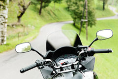 Motorcycling Stock Photography