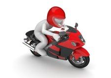 motorcyclist royaltyfri illustrationer