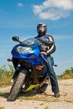 motorcyclist Arkivbilder