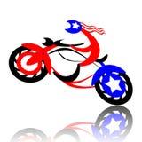 motorcyclist stock illustrationer