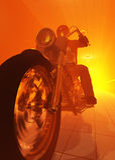 Motorcyclist Stock Image
