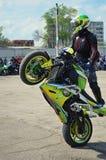 motorcyclist Immagini Stock