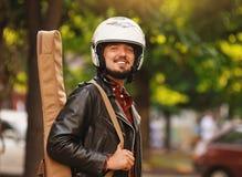 motorcyclist Royaltyfria Foton