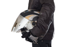 Motorcyclist Helmet Stock Photos