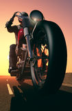 Motorcyclist Royalty Free Stock Photography
