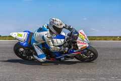 Motorcyclist Racing Stock Photography