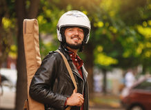 Motorcyclist Royalty Free Stock Photos