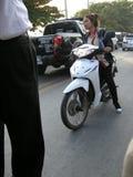 motorcyclists Fotografia Stock Libera da Diritti