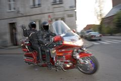 Motorcyclists Royalty Free Stock Photos