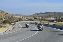 motorcyclists Стоковые Фотографии RF