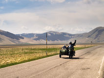Free Motorcyclists On The Road Royalty Free Stock Photos - 70952558