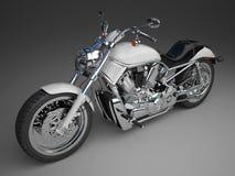 motorcykel 3d Royaltyfri Fotografi