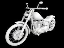 motorcykel 3d Royaltyfri Bild